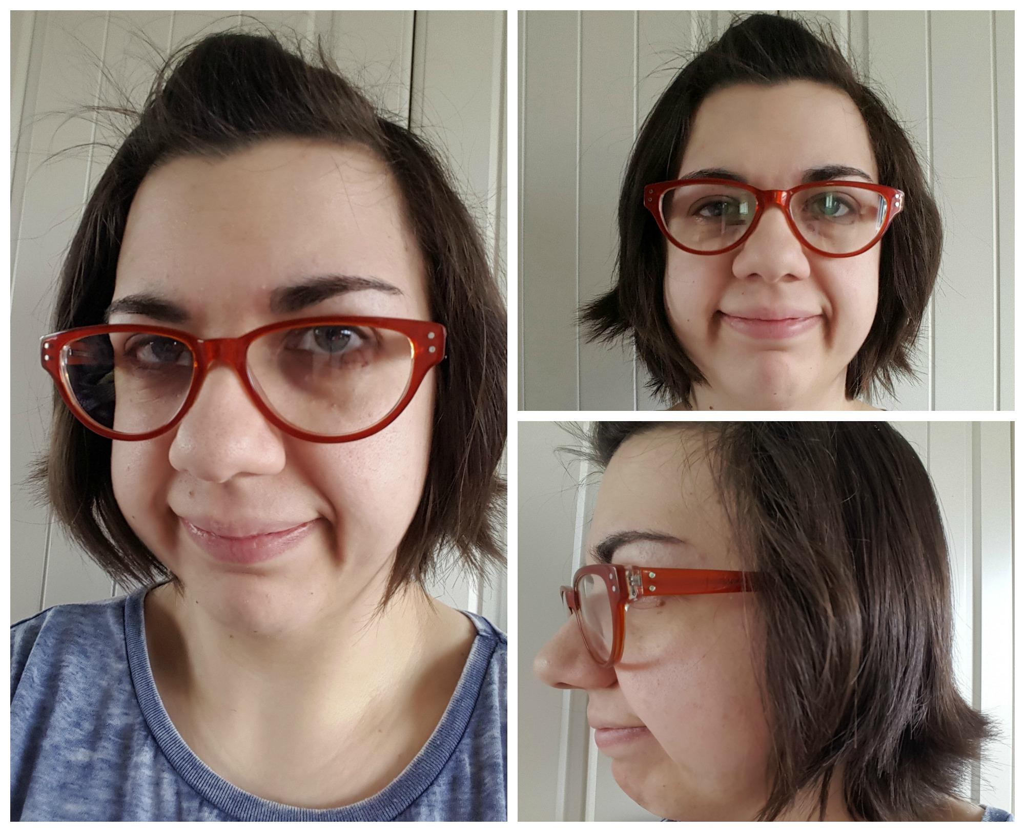 Shuffle brown glasses frames