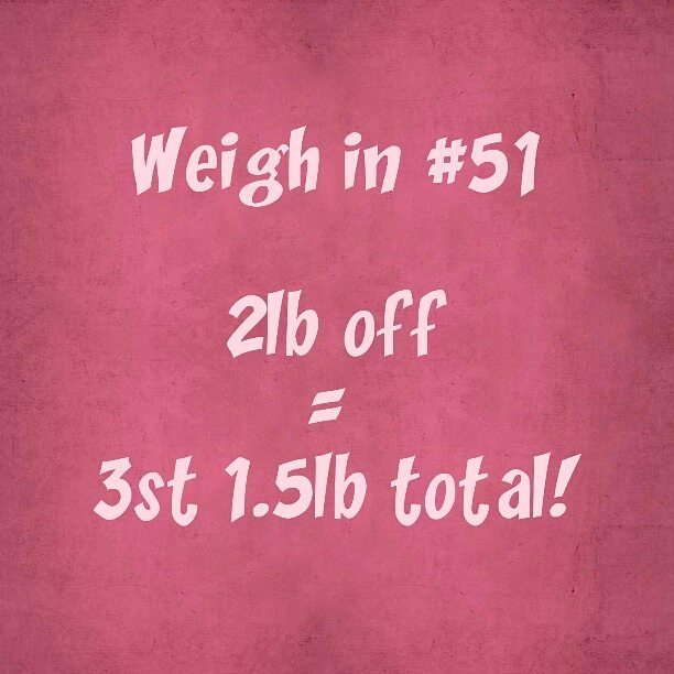 Slimming World weigh in