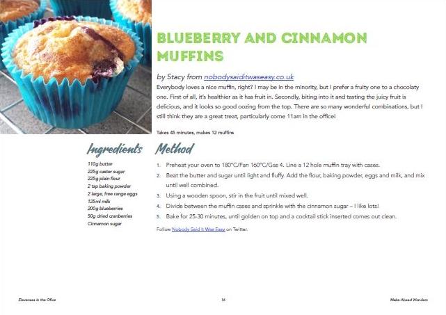 Elevenses muffins