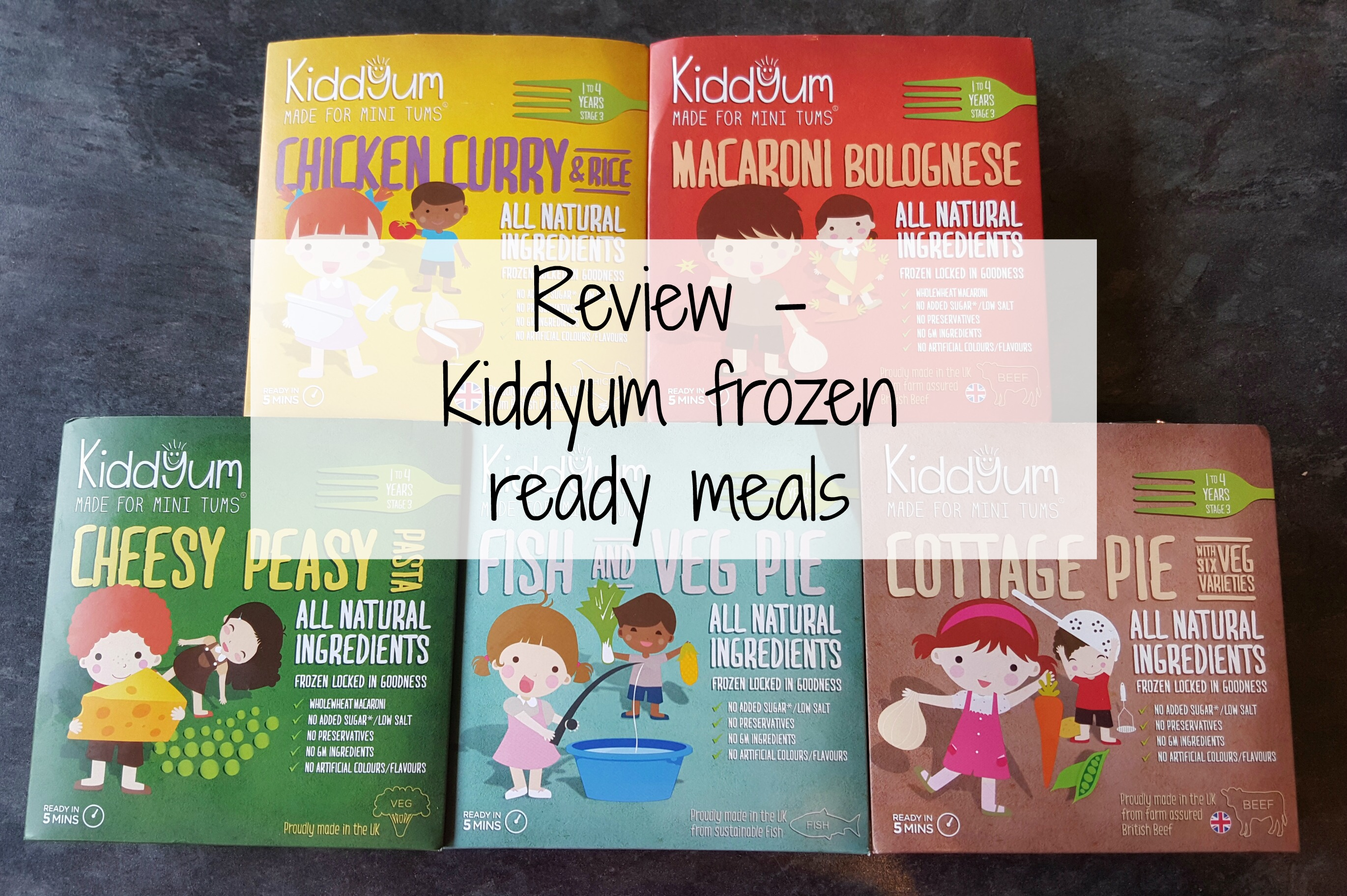 Kiddyum Frozen Ready Meals Review Stacey In The Sticks