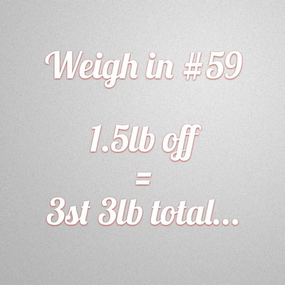 Slimming World weigh in 59