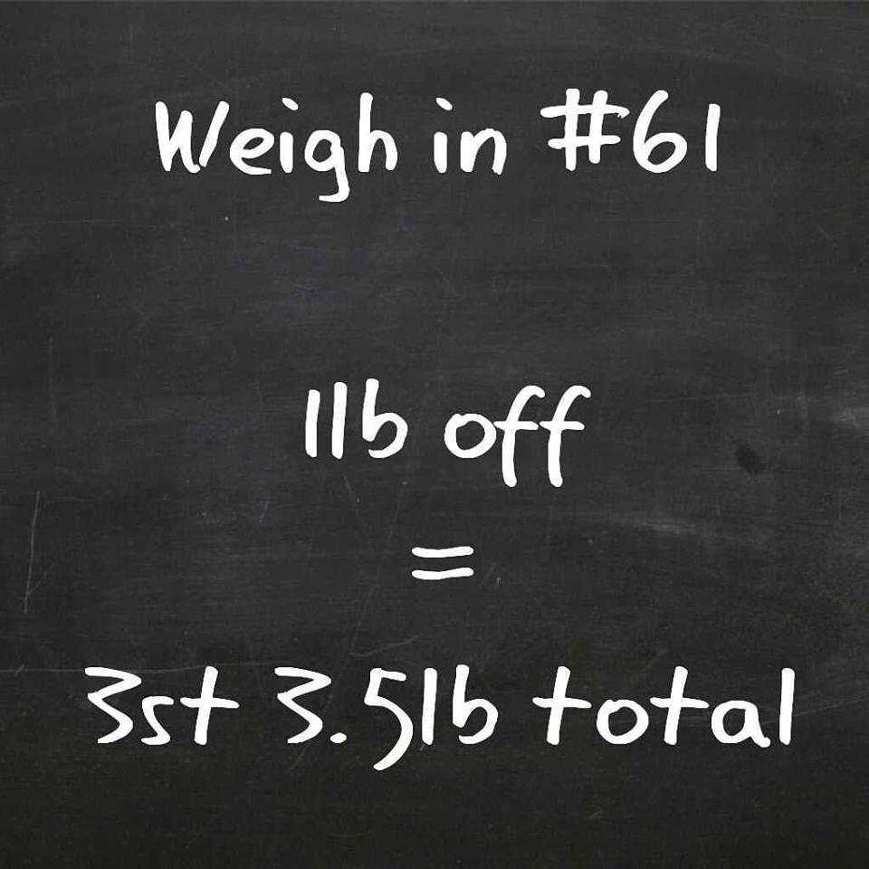 Slimming World weigh in 61