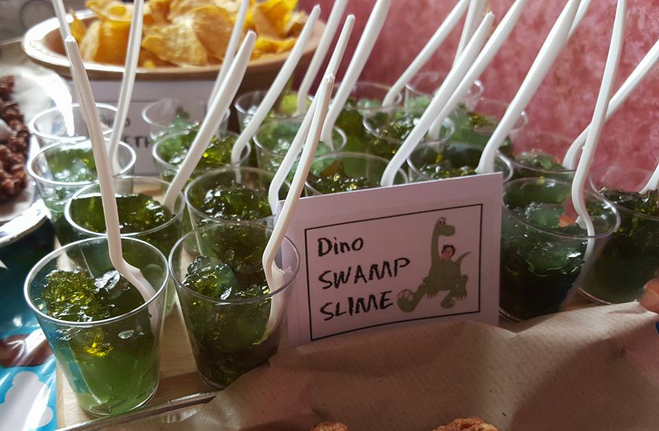 dinosaur party - dino swamp slime