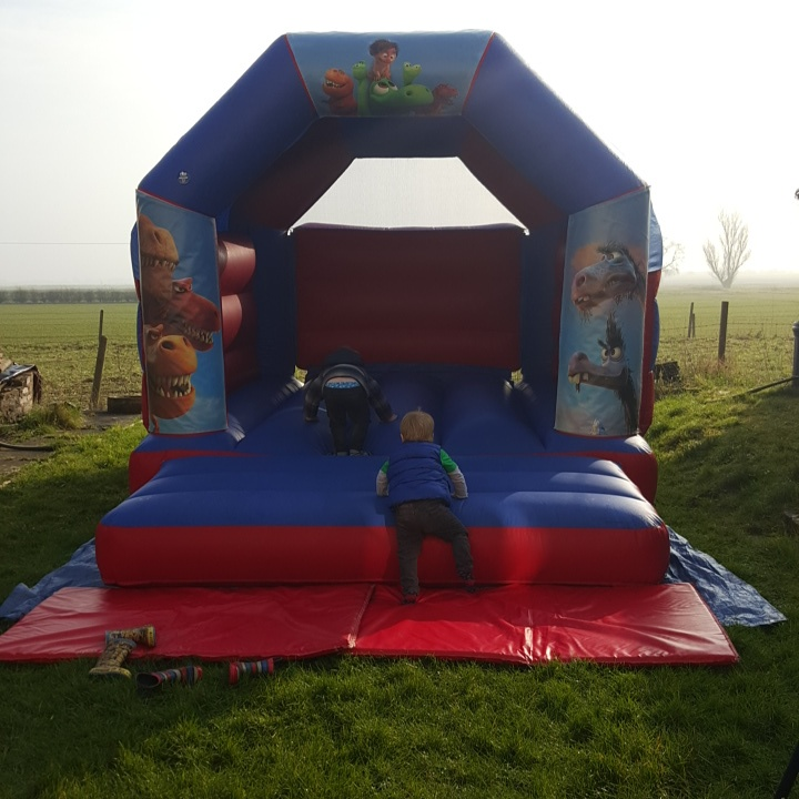 dinosaur party - the good dinosaur bouncy castle