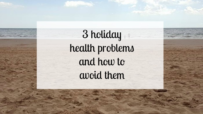 holiday health problems