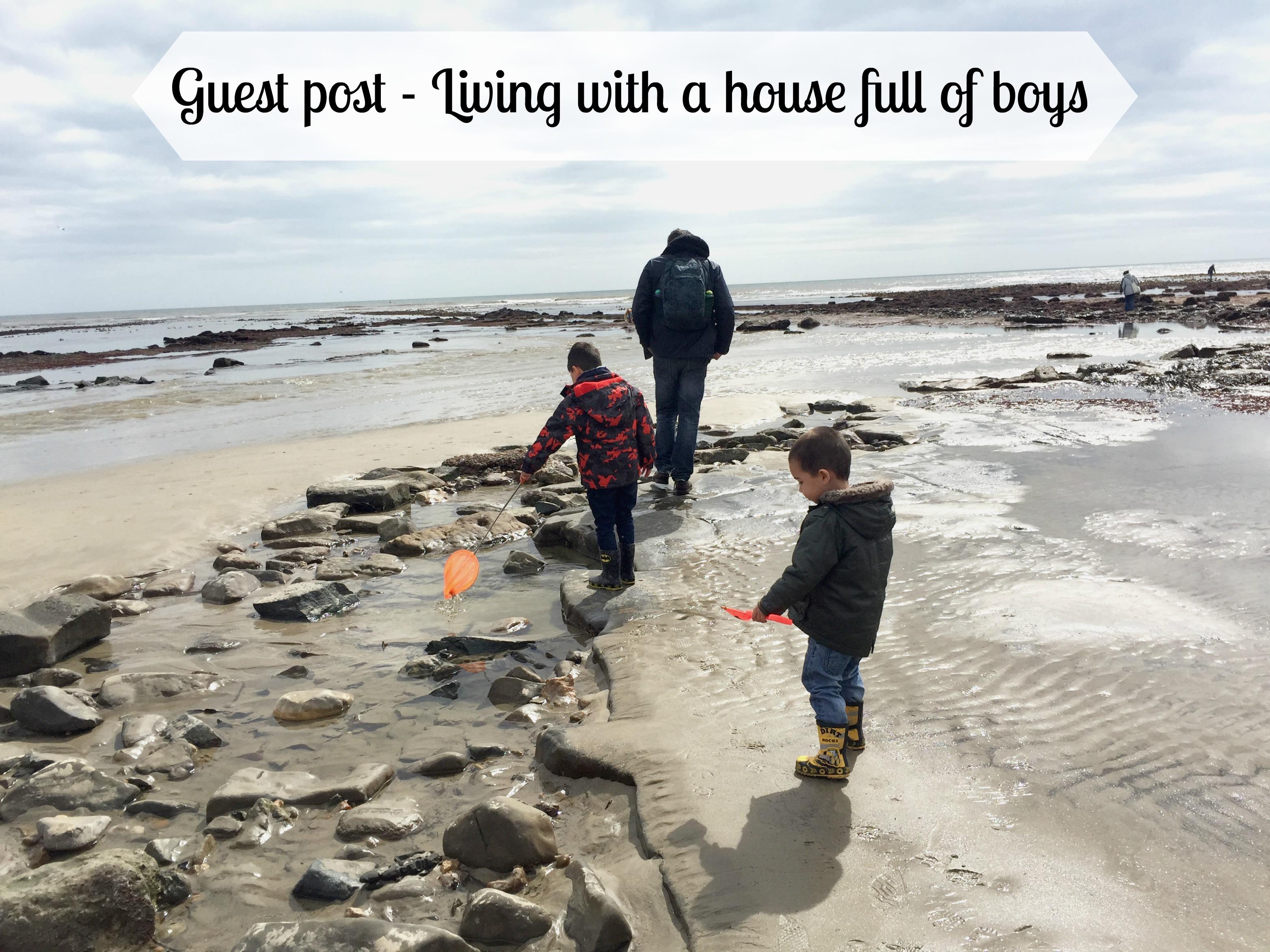 Living in a house full of boys