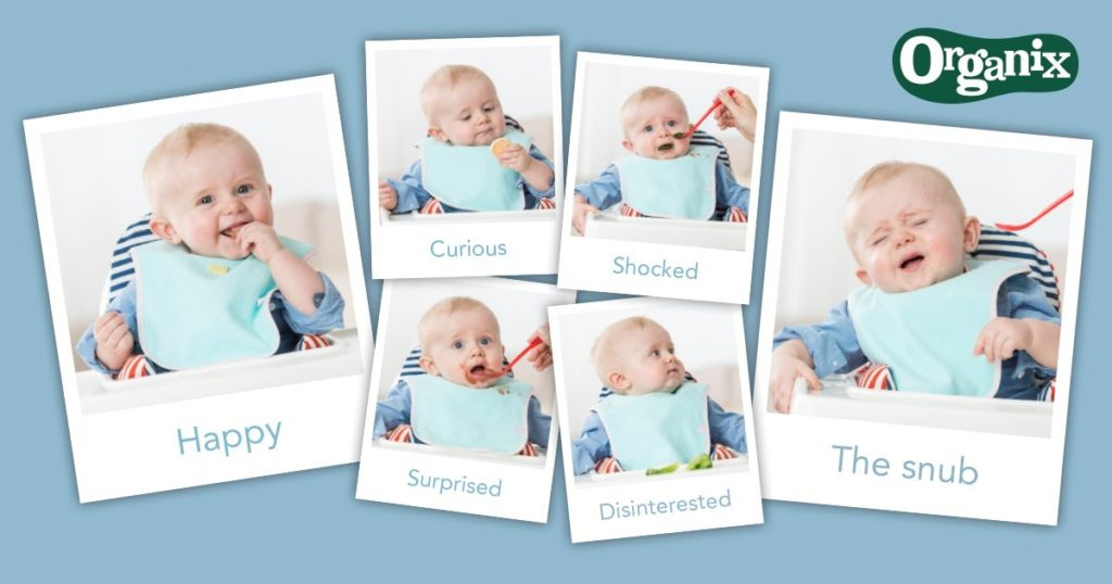 Organix weaning faces