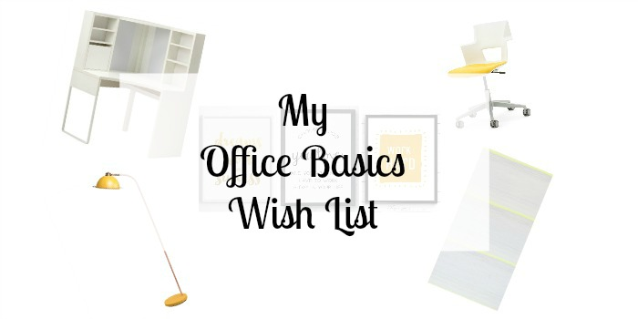 Office Basics Wish List VELUX