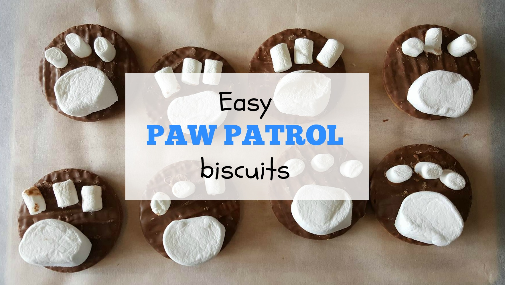 Paw Patrol biscuits