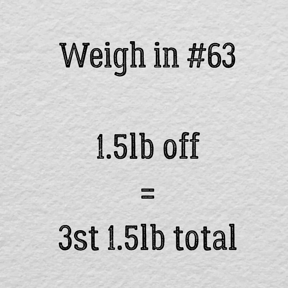 Slimming World weigh in 63