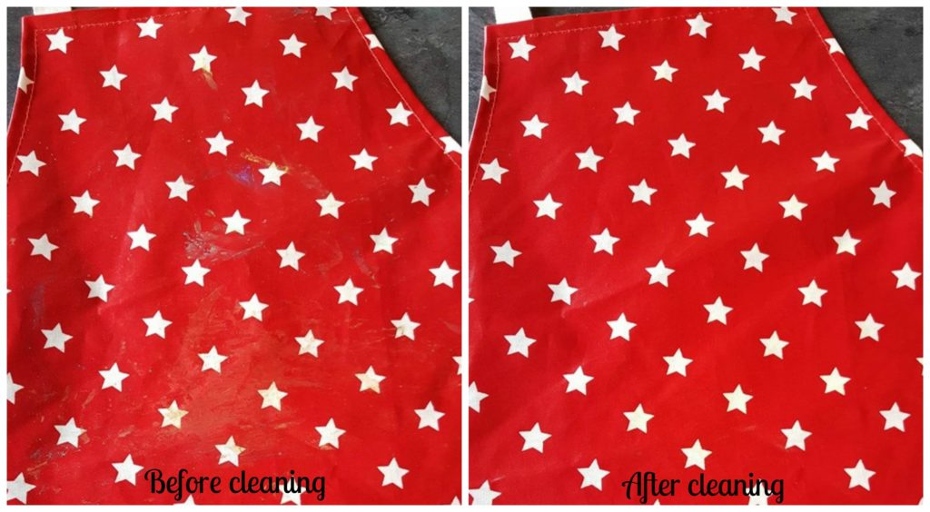 Messy Apron review before and after