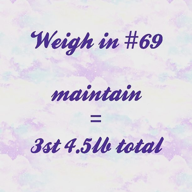 Slimming World weigh in 69