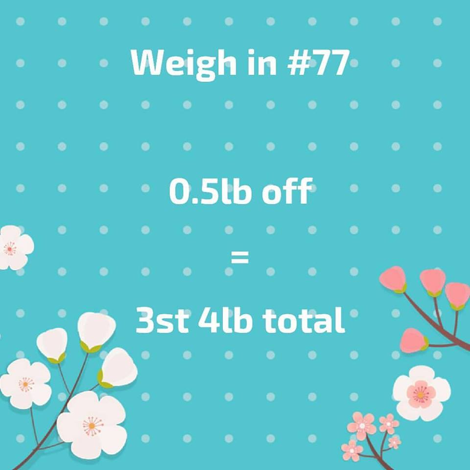 Slimming world weigh in 67