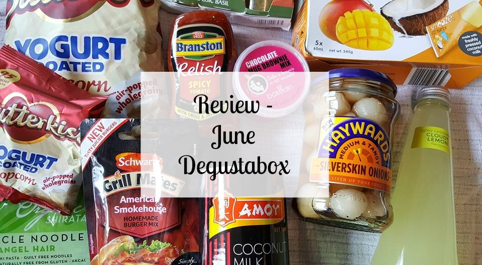 June Degustabox review