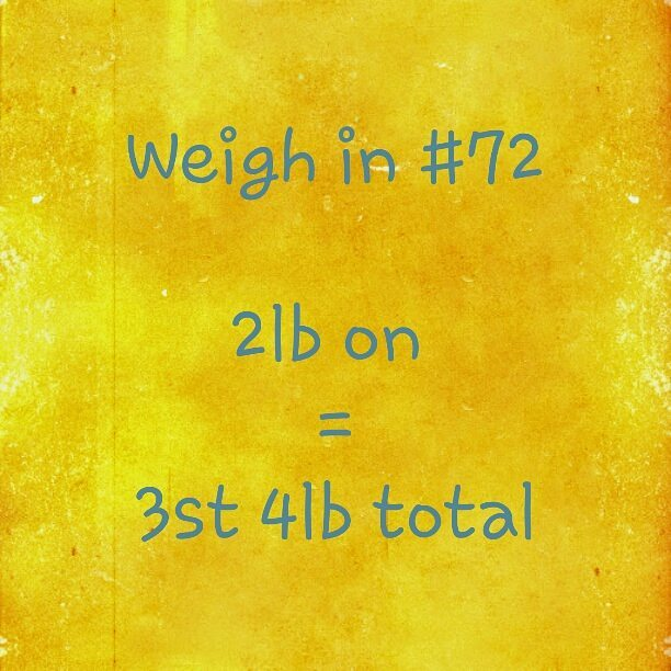 Slimming World weigh in 72
