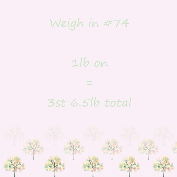 Slimming World weigh in 74