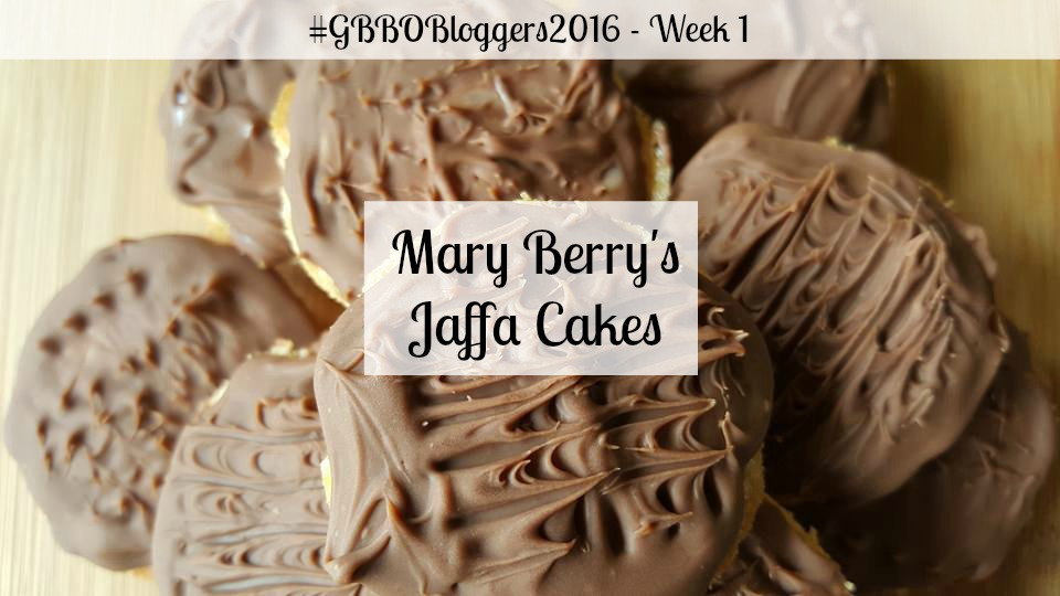 GBBOBloggers2016 Week 1 - Mary Berry's Jaffa Cakes