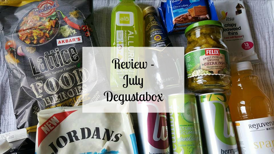 July Degustabox review