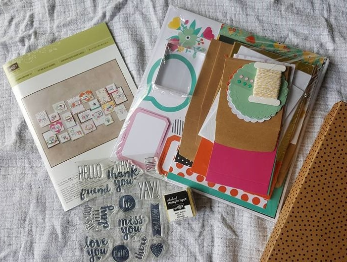Oh Happy Day card kit review