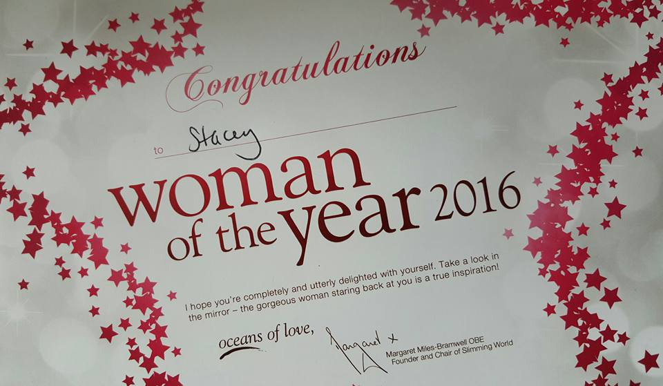 On being group Woman of the Year