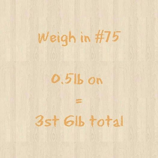Slimming World weigh in 75
