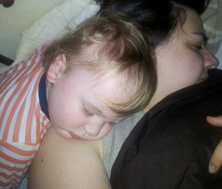 The Mummy Tag - Cosleeping