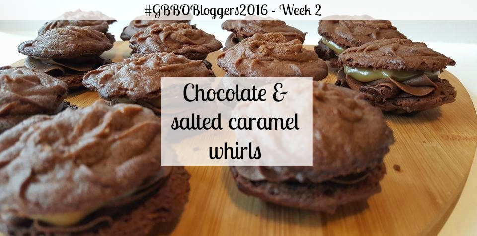 Chocolate & salted caramel whirls - NSIWE