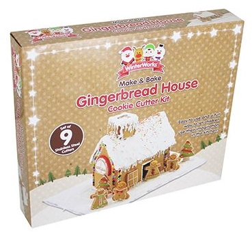 Gingerbread House Cookie Cutter Kit from The Works