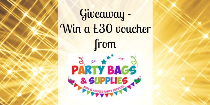 Giveaway £30 voucher Party Bags & Supplies