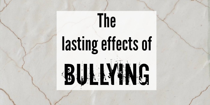 Lasting effects of bullying