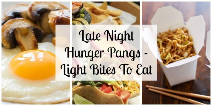 Late Night Hunger Pangs