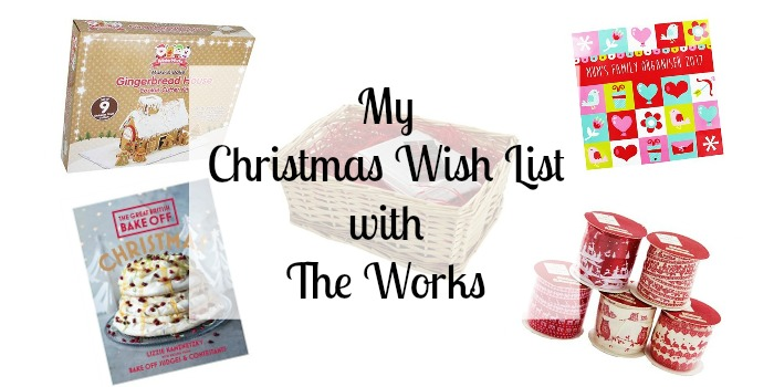 My Christmas wish list with The Works