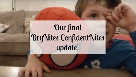 Our final DryNites ConfidentNites update