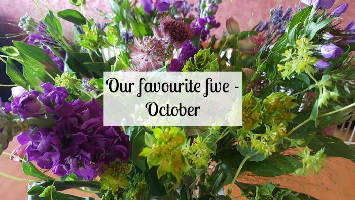 Our favourite five - October