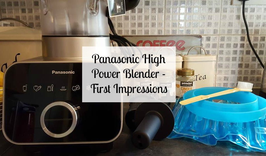 Panasonic high power blender - first impressions