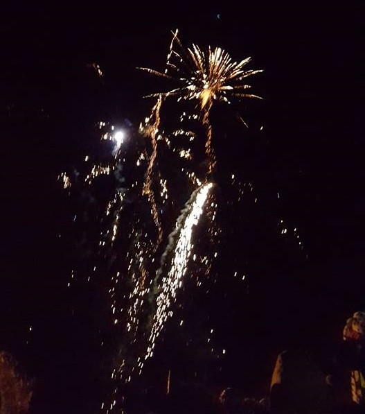 Fireworks on Bonfire Night