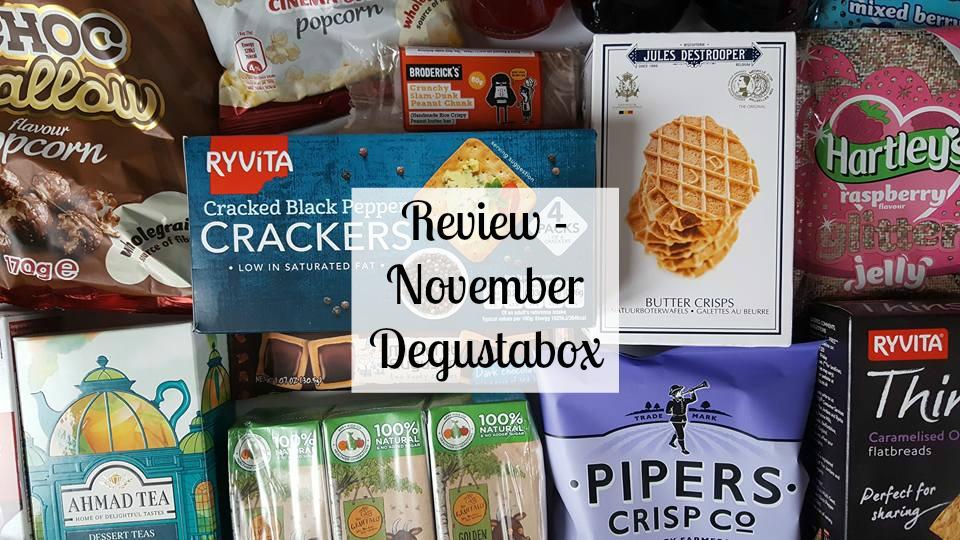 November Degustabox review