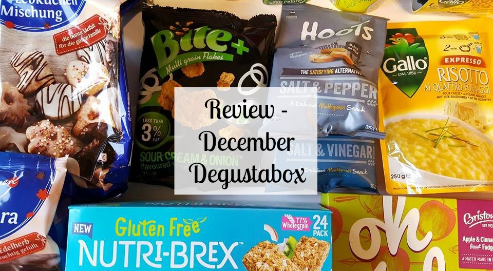 Review - December Degustabox