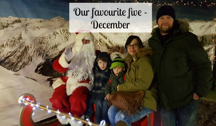 Our favourite five - December
