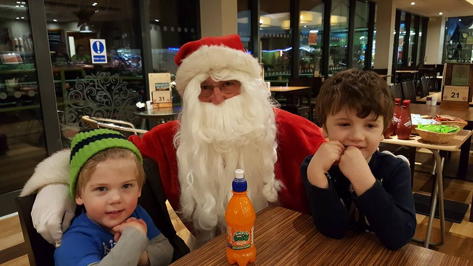 Our favourite five - Tea with Santa