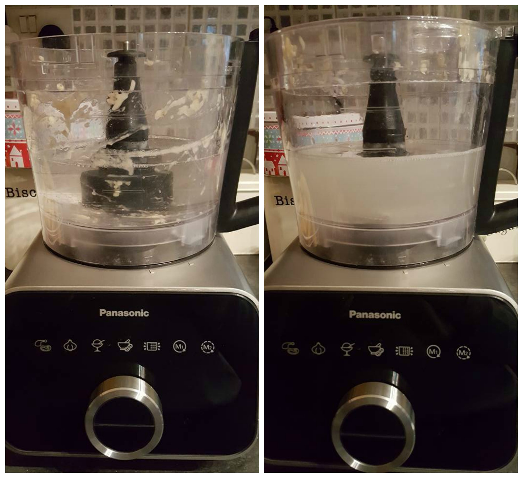 Panasonic precision gourmet blender pre cleaning function