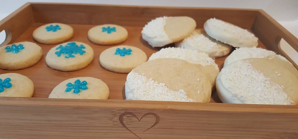 Frozen inspired biscuits