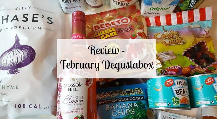 February Degustabox
