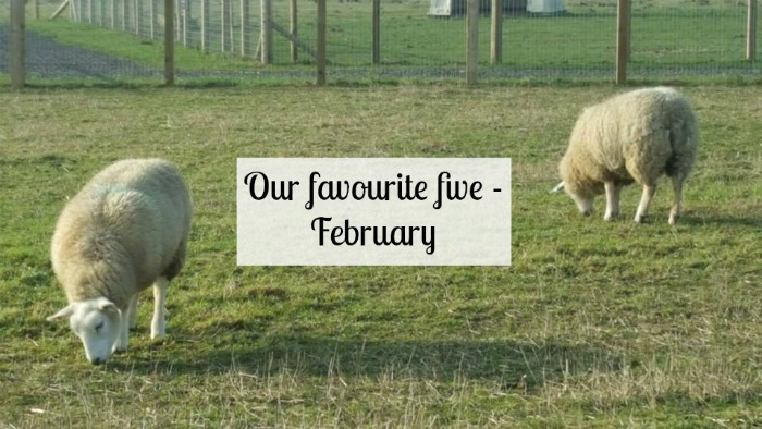 Our favourite five February