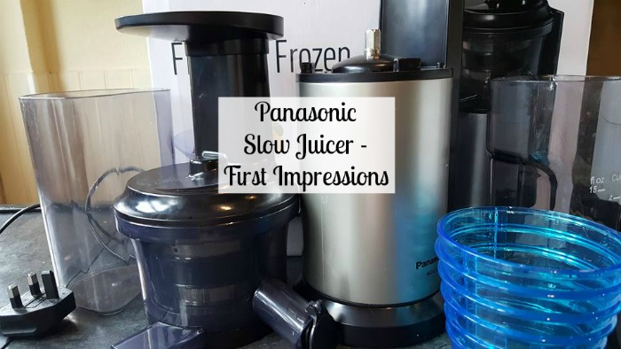 Fitness First Slow Juicer Review : Panasonic Slow Juicer First Impressions - Stacey in the Sticks