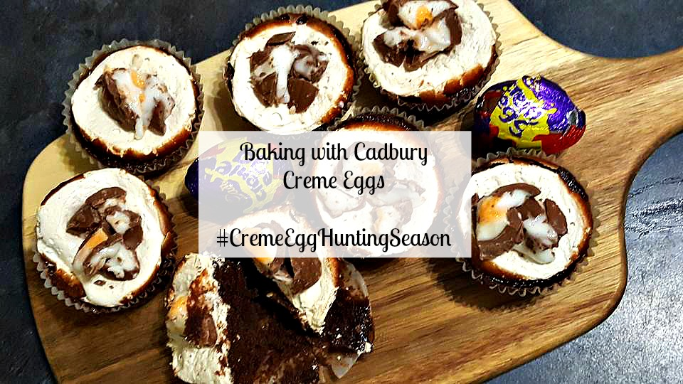 Baking with Cadbury Creme Eggs #CremeEggHuntingSeason