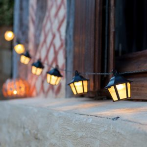 lantern solar string lights