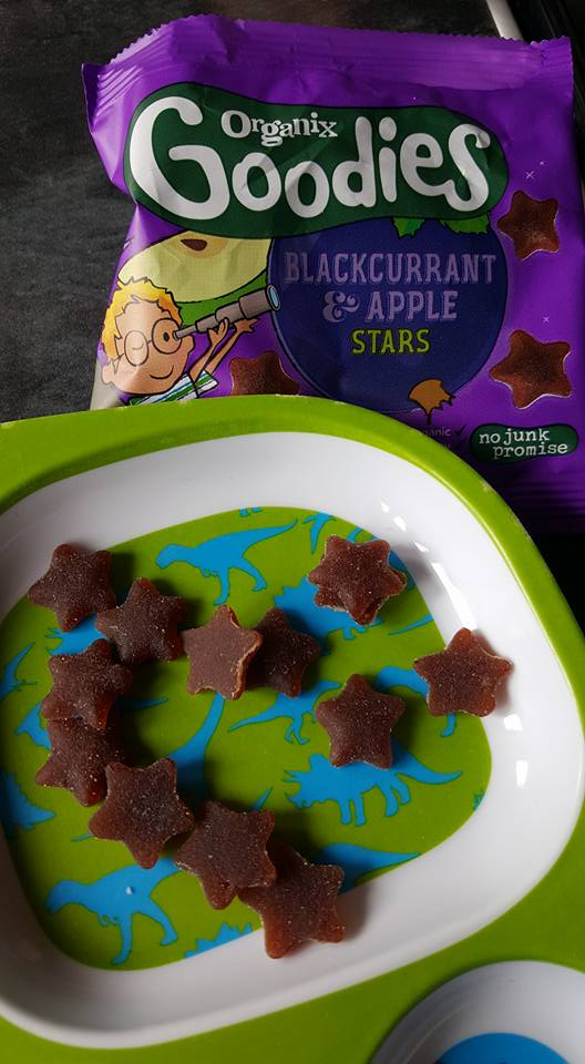 Organix Goodies blackcurrant and apple stars