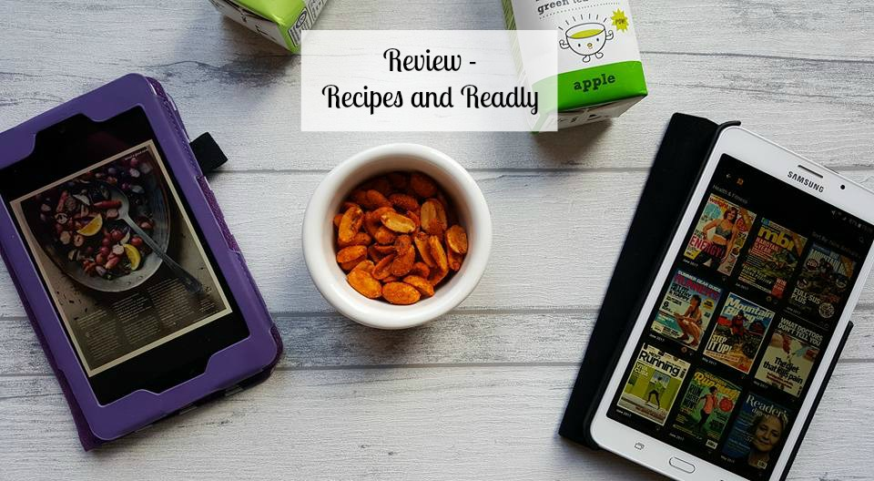 Review - Recipes and Readly
