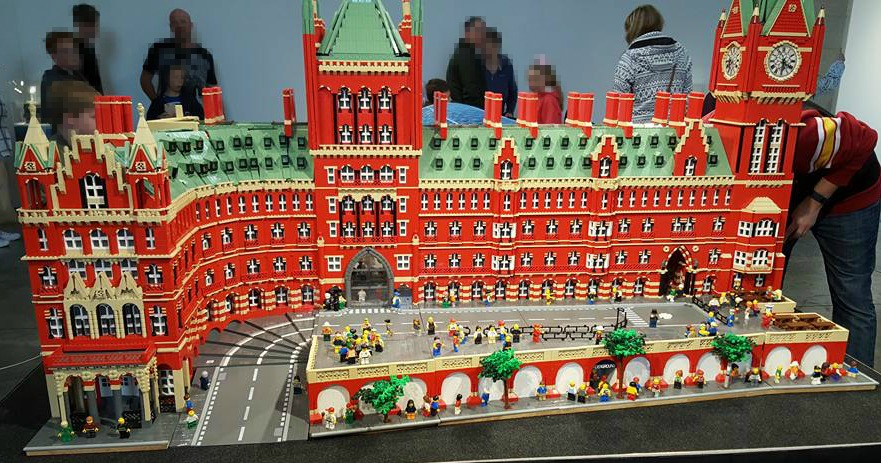 May faves - St Pancras LEGO exhibition